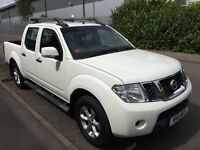 Nissan navara 4x4 jeep 2011 dci 6 speed full history drives mint no vat to pay at only £6499