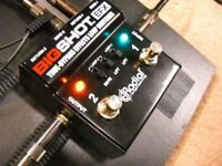 RADIAL TONEBONE BIG SHOT EFX TRUE BYPASS EFFECTS LOOP SWITCHER PEDAL