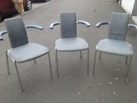 Chairs Retro/Vintage Kinnarps with arms