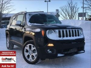 2017 Jeep Renegade LIMITED**MY SKY POWER SUNROOF**NAVIGATION**