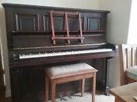 C Barlman & Sons upright piano