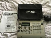 Boss BR 600 with psu extra memory card and manual