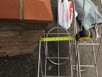 Boat fender racks