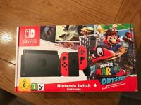 Nintendo switch limited edition red
