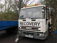 Iveco euro cargo recovery truck 6 cylinder low mileage 59.000 km low emissions