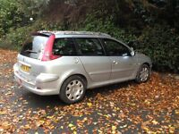 Peugeot 206 quick silver estate