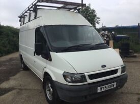 51 REG FORD TRANSIT 350 LWBASE HIGHTOP big roof RACK CAME IN OX TODAY ANYTRIAL WELCOME PX CONSIDERED