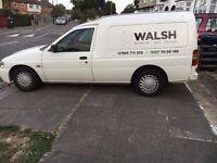 QUICK SALE: White Ford Escort Van for sale
