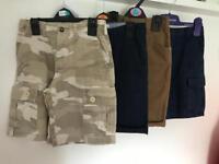 4 Pairs Boys Shorts 5-6yrs