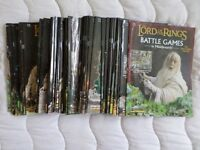 'The Lord of the Rings: Battle Games in Middle Earth' issues 1-58, Two Towers ed. and movie guide