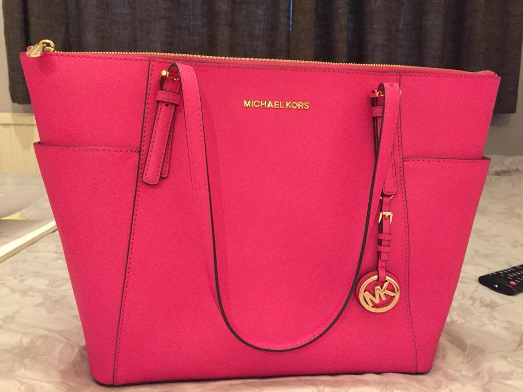 Pink Michael Kors Bag Genuine