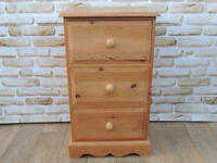 Chest of Drawers Solid wood Extra deep drawers Welsh pine (Delivery)