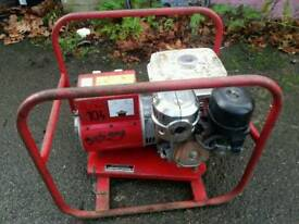 Honda 8hp generator 2.8 kva good working order