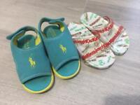 Infant summer sandals - infant size 7