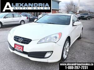 2012 Hyundai Genesis Coupe Premium 6 speed leather sunroof