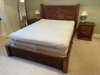 King Side Bed & Tables