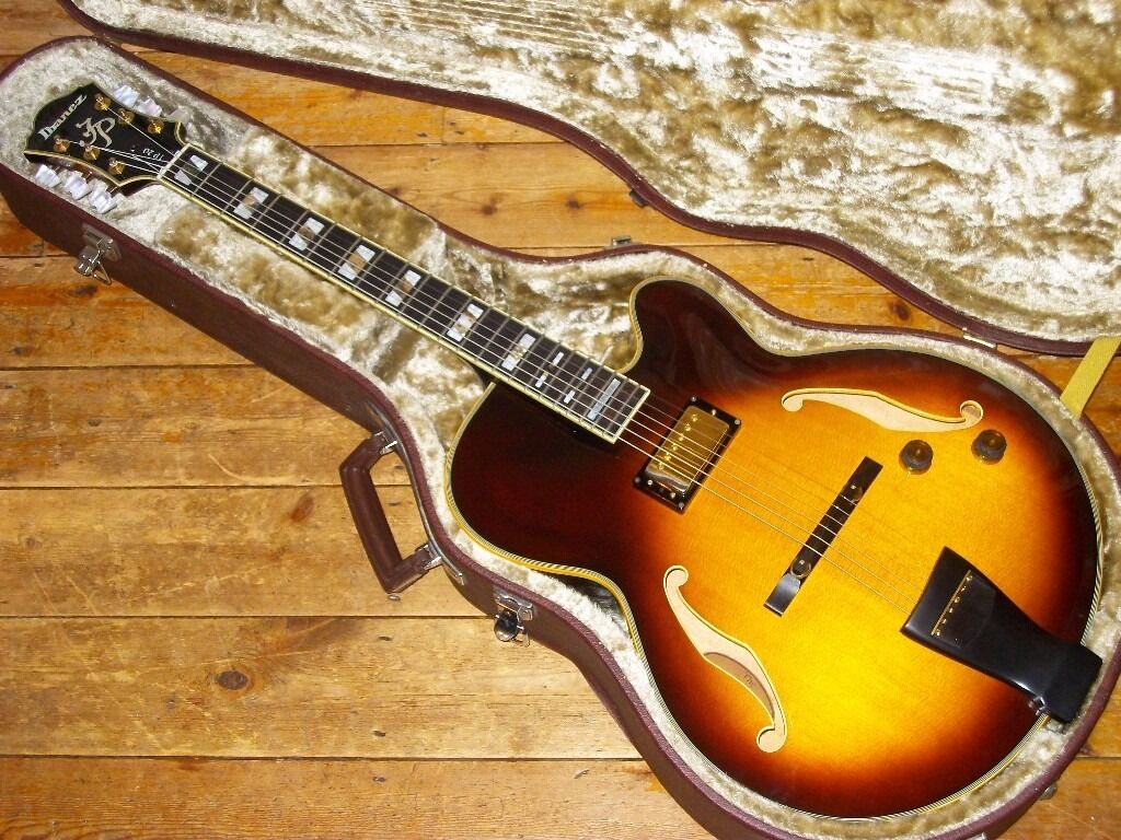 Ibanez JP 20 Joe Pass hollowbody made in Japan 1980in Hounslow, LondonGumtree - Ibanez JP 20 Joe Pass hollowbody made in Japan 1980, good condition with original hard case, swap for other quality guitar or sell £1495.00