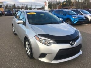 2014 Toyota Corolla LE ONLY $116 BIWEEKLY WITH $0 DOWN!