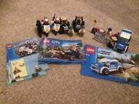 Lego city police vehicle bundle