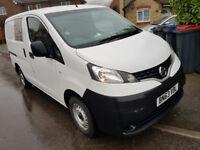 Nissan NV200 SE DCI, 2013, 78k, Long MOT, ONE OWNER, 2 Keys, Reverse Cam, Bluetooth & NO VAT £4995