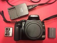 Canon 400D DSLR camera