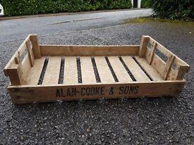 5 Rustic Apple Crates