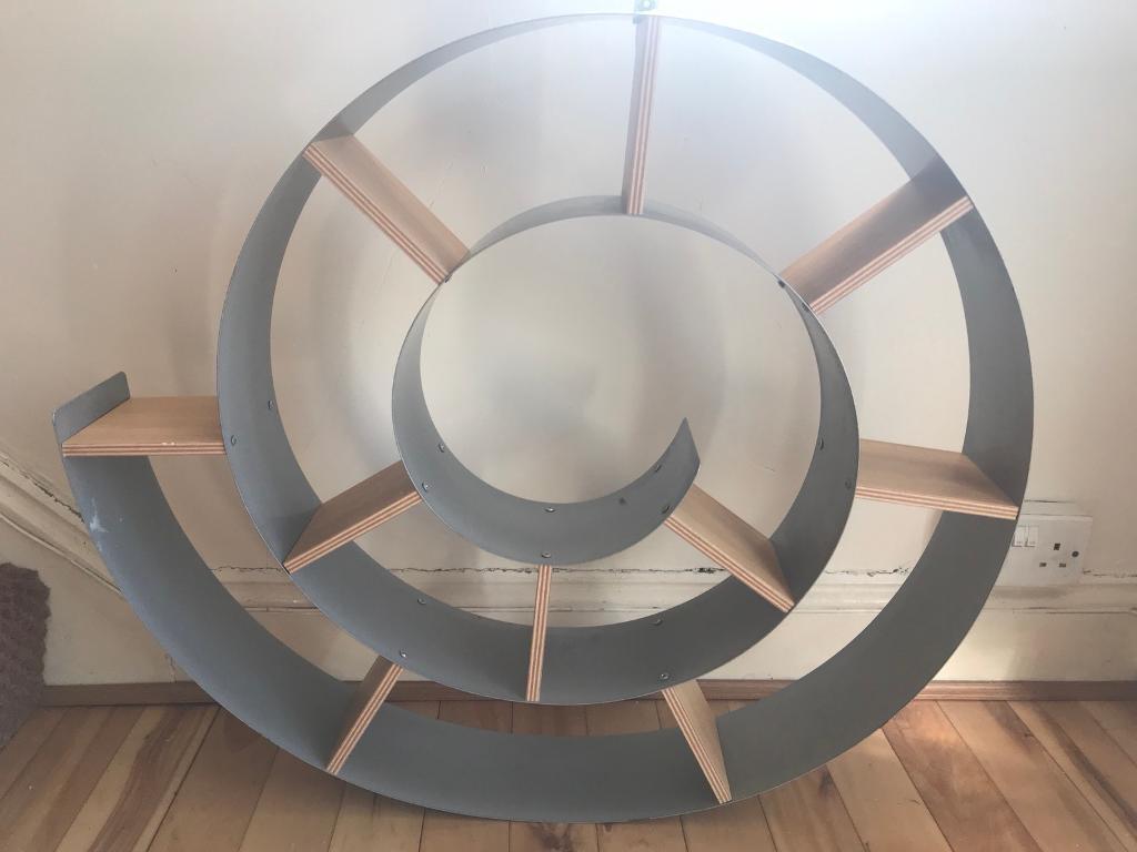 Wall mounted CD shelving unit