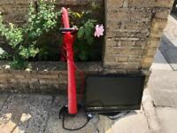 LCD tv and lawn mower *Free*