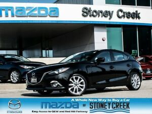 2014 Mazda MAZDA3 GT AUTO,LTHR+NAV+BOSE,NEW F/BRKS,1 OWNER,ACC F