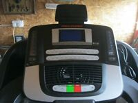 QUALITY 'PRO-PERFORMANCE 1500' TREADMIL - RUNNING MACHINE. USED ONCE. EXCELLENT ORDER.DELIVERY POSS