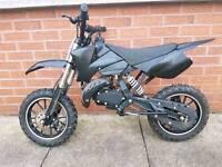 Mini moto scrambler