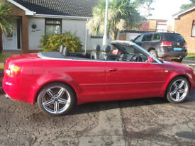 STUNNING AUDI A4 SPORT CABRIOLET 2.4 AUTOMATIC/VERY LOW MILES