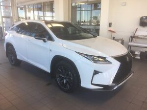 2016 RX 350 - Full Load F-Sport Series 3 - Lease or finance fro