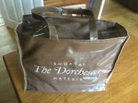 The Dorchester Mayfair Shopping Bag and Macy's New York Lunch Bag