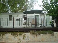 2 Bedroom Mobile Home Sited in Murcia Region of Spain.