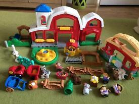Farm toy for toddler