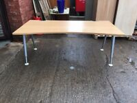 VERY HIGH QUALITY HERMAN MILLER DESK 1800mm HEIGHT ADJUSTABLE LEGS