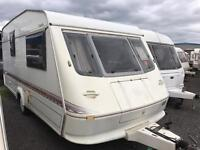 Late 90s elddis nightbridge lightweight caravan in sale Monday bank holiday