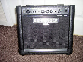 Behringer guitar amplifier