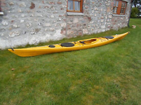 SEA KAYAK, a low volume boat in excellent condition