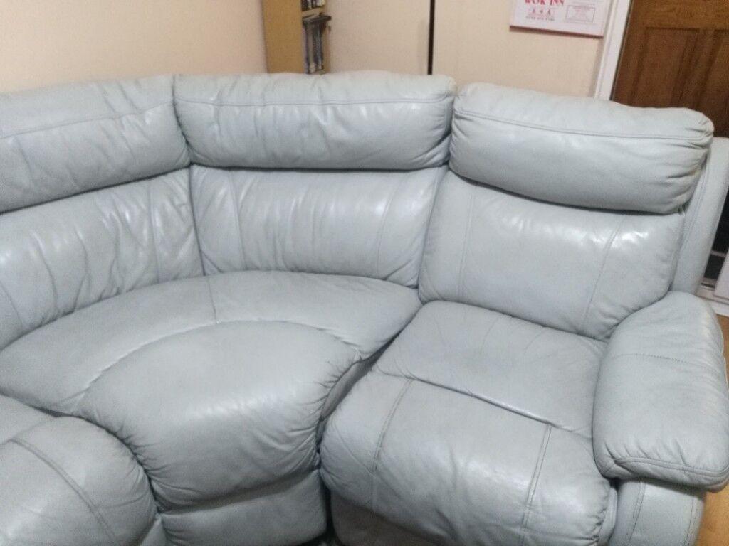 Leather Corner Sofa In Newham London Gumtree