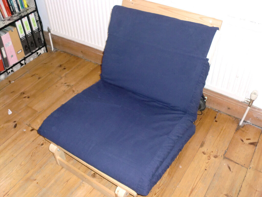 Single Ikea Grankulla Futon With Mattress In Good Condition