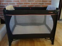 Urban Detour Travel Cot- 100cm x 70cm. Additional Mattress included.