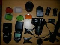 Nikon D3100 + 18-55mm lens + 2 x SB910 + Sigma DC AF 55-200mm lens
