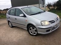 READ ME NOW 05 Nissan Tino 1-8 MPV Above Average Condition At Less than Scrap Price, DRIVE AWAY £295