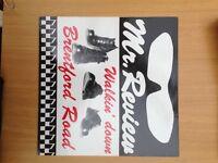 Mr Review, Walking Down Brentford Road, original vinyl LP, rare, excellent condition, £50