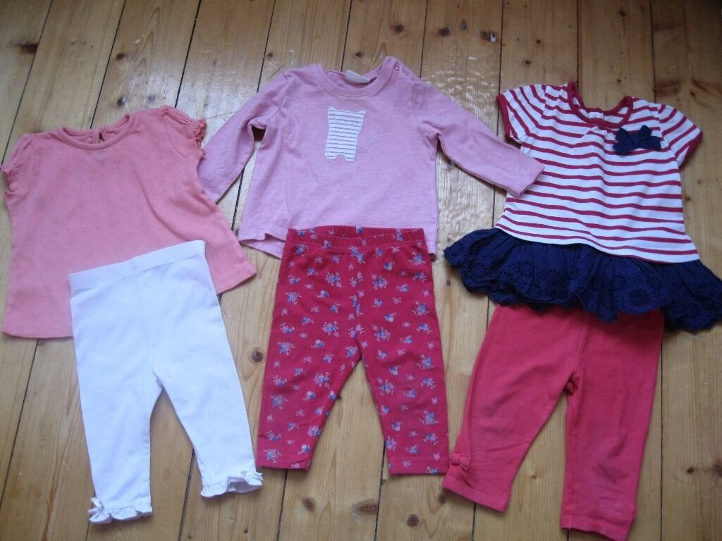 Baby Girl Clothes Bundle Size 3 6 Months Mix And Match Outfits