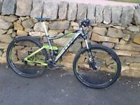 Cube Sting 140 Pro Full Suspension Mountain Bike - SOLD