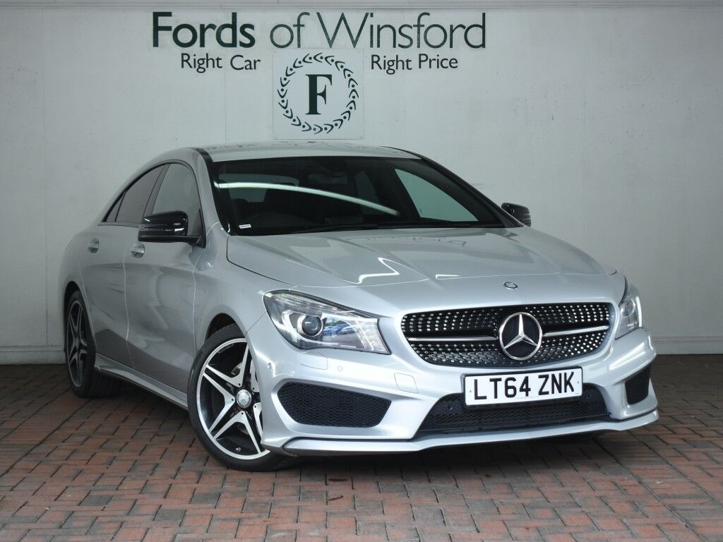mercedes benz cla class cla 220 cdi amg sport 4dr tip auto night package 18 alloys 2014 in. Black Bedroom Furniture Sets. Home Design Ideas