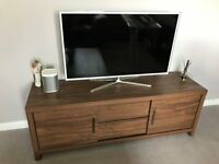 Walnut TV unit from next, excellent condition only 2 years old